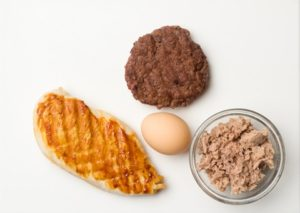 Examples of meat protein foods
