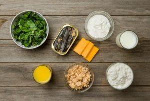 Examples of calcium-rich foods