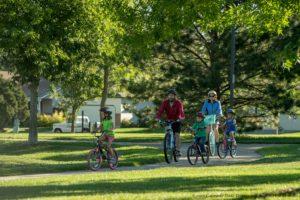family bikeride