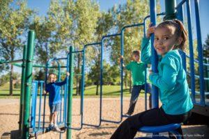 kids at playground